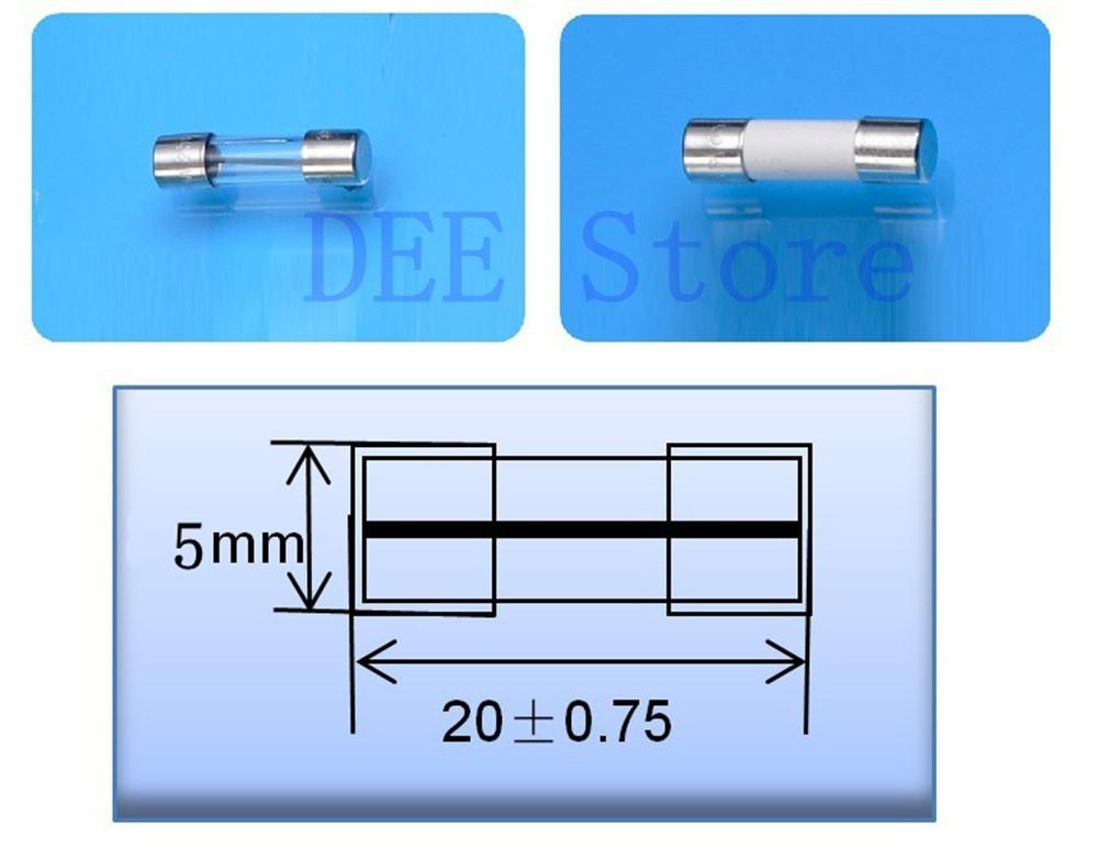 5x20 mini fuse block fuse holder box chassis panel mount