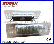 Jetta 6 LED license plate light can solve 2012 cars error problem