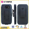 Flexible hard PC stand case for Samsung S6 ACTIVE&G890 combo case