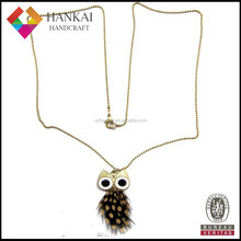 New design owl pandent necklace