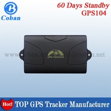 Long Battery Life Easy 6000mah Install Car GPS Tracking TK104 Car GPS Tracker Device with Microphone with Google Maps