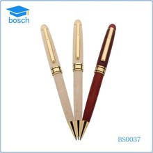 2015 Eco friendly fashion wooden ball pen
