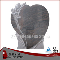 2015 new design flower carving tombstone headstone borders