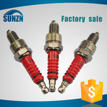 High level good material hot sale spark plugs for motorcycles