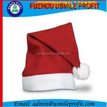 Custom Cheap Non Woven Santa Hats