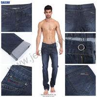 Wholesale Thailand d Jeans Manufacturer Men Straight Dungaree Ready Denim Jeans Man Whiskered Pantalones Jeans Manufacturer