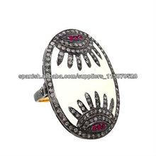 Venta al Por Mayor de Anillos Pintados con Esmaltes Distribuidores de Anillos con Rubís Proveedores de Joyería con Diamantes