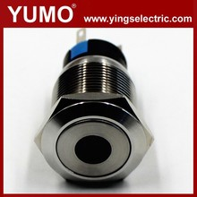 LA19-AJS 19mm 250V Led momentary elevator equipment pushbutton switch Metal push button wireless switch push button