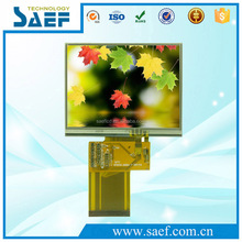 3.5 inch tft display 320x240 dots with touch screen RGB interface 54 pins connector