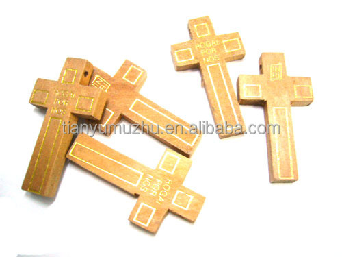 Antique natural cheap wholesale crucifix wooden religious for Cheap wooden crosses for crafts