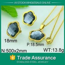 kalen top 18 carat gold jewelry set