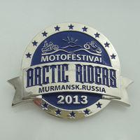 factory price wholesale custom chrome auto sticker badge emblem
