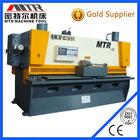 Máquina de corte QC11Y 6 x 2500 ferro metal máquina de placa de corte