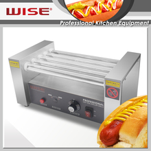 Top Quality Commercial 5 Rolls hot dog machine For Commerical Restaurant Use
