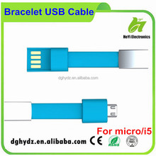 Bracelet USB Cable for Android Mobile Phone