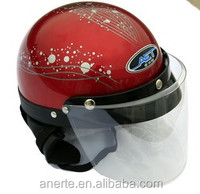 Anerte cheap popular safe harley moto helmet B-28 helmet motorcycle abs/pp