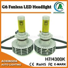 6G H7 LED headlight with 5 color options 3000K 4300K 6500K 8000K 10000K