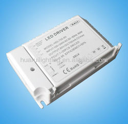 switching power supply Dimmable 70W with ETL/UL led driver for led indoor lighting constant voltage12/24V constant current