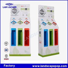Flooring toothpaste paper display/toothbrush paper display stand