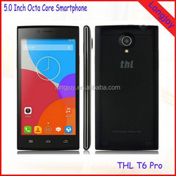 """2015 Newest THL T6 PRO Mobile Cell Phones MTK6592M Octa Core Android 4.4 Smartphone 5.0"""" IPS 1GB RAM 8GB ROM GPS"""