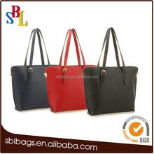 Custom patterns hot sale fashion tote shopping bag / custom made tote shopping bags for sale