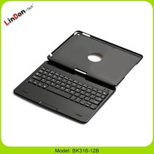 New 360 Rotating design bluetooth keyboard case for iPad Air 2, case & keyboard for iPad air 2, Keyboard Case of apple tablet