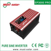 EP3000 PRO series built in PWM 50A solar charge controller off grid low frequency pure sine wave power inverter 12v 220v