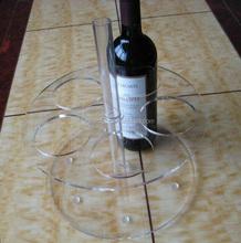 display wine rack for supermarket,wine display stand
