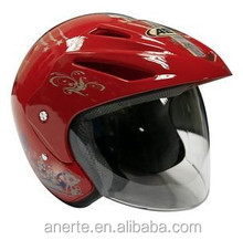 Anerte cheap popular safe half face moto helmet B-919 pp/abs half helmet industrial safety helmet