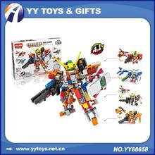 Hsanhe Anime Figure Toys Gundam Building Block 3D DIY Model Toy