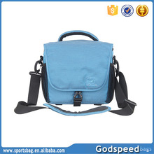 colorful pro multi-functional dslr leather camera bag