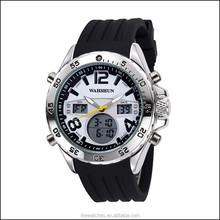 Sports watch dual time watch,digital sport watch,men's watch