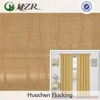 100 polyster slubbed plain jacquard bamboo face blackout door curtain fabric