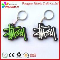 Mini any shape keychain/pvc key ring/car shape key chain
