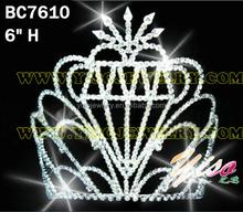 forest crystal leaf crown