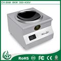 Mesa de control de temperatura quemador de grasa en polvo