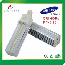 g24q-1 four pin base pl lamp led, 3 Years Warranty led pl 2 pin bulb, Sumsang 5630 chip led plc