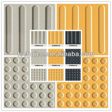heavy duty porcelain blind tile flooring for warning and direction 30x30