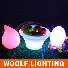 high technology new invention LED Bright and clear table lamp / LED Clear plastic table light