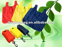 factory directly sell popular foldable nylon bags for shopping