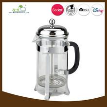Unique american french press glass coffee maker