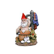 Cute Custom Bathing statue resin Garden gnome