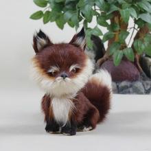 Design classical plush fox toy skin