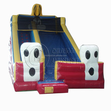 hot indoor rabbit inflatable big slide for kids, inflatable games