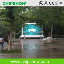 Chipshow P10 outdoor mobile truck led advertising display/LED panel hot sale
