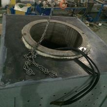 aluminum ingot melting/smelting furnace: aluminum melting pot