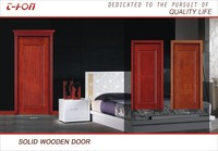 hot sale high quality solid interior wood bedroom door with malaysia design