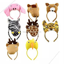 Wholesale fashion Cute animals Head band carnival for Christmas kids Party supplies