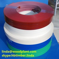 75% PVC edge banding tape furniture wood grain color edge banding edging strip