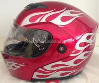 shoei cw1 helmet for motorcicles FLIP UP full face helmet with double visor motorcycle helmet TN8615 GLOSS COLOR